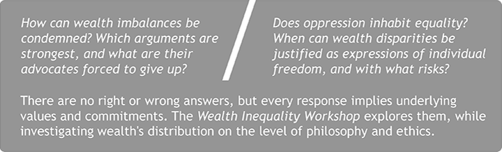 How can wealth imbalances be